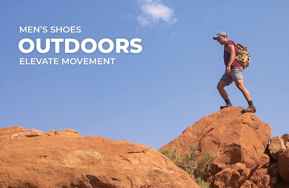 Category Banner - Men's Outdoor Shoes