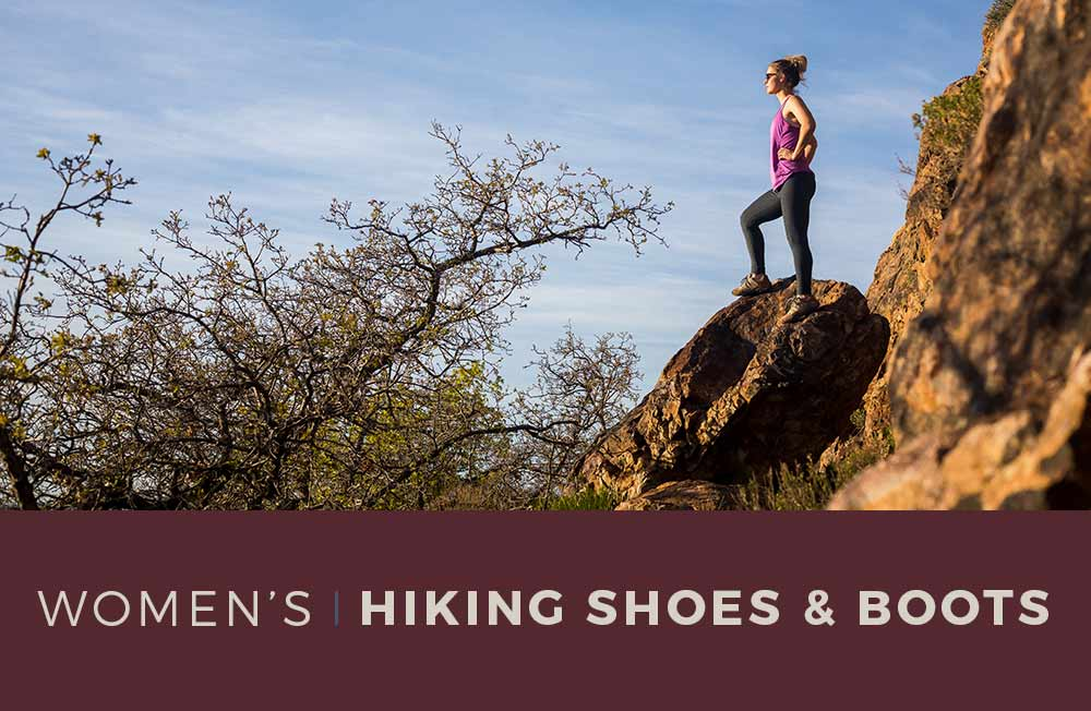 Category Banner - Women's Hiking Shoes and Boots